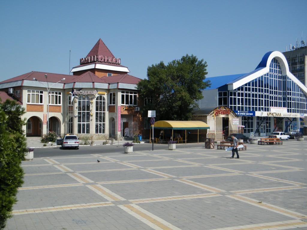 Белореченск, площадь (Эльна)