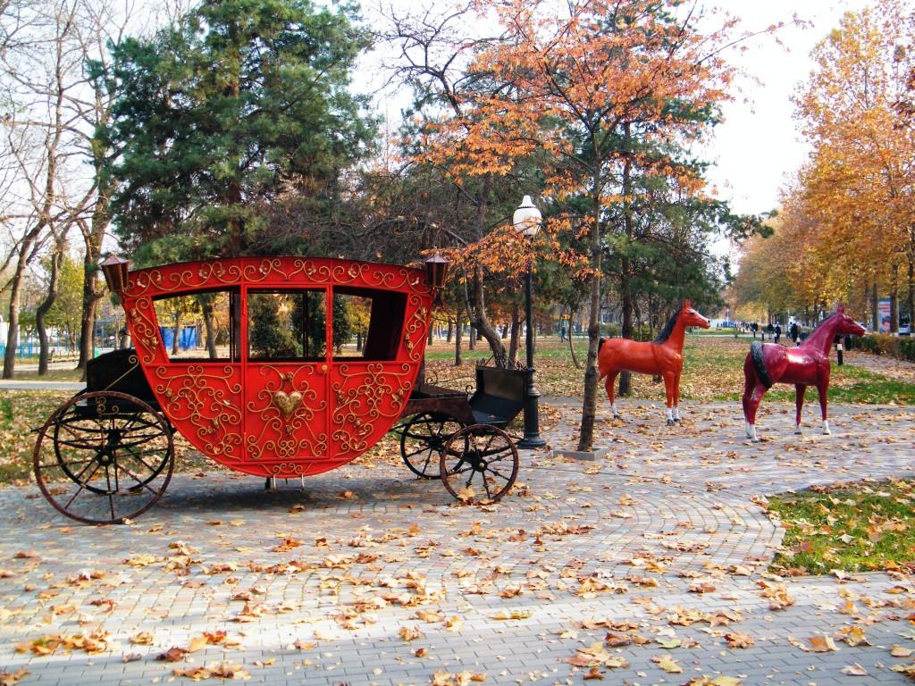 Белореченск, городской парк