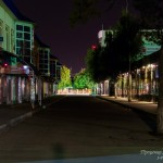 Белореченск, ночью возле рынка