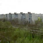 Белореченск, вид с колеса обозрения на ул.Ленина