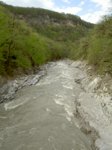 Хаджох, река Белая