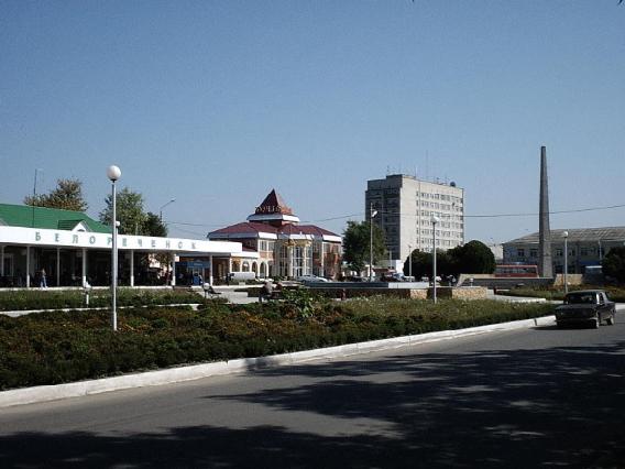 Белореченк, автовокзал